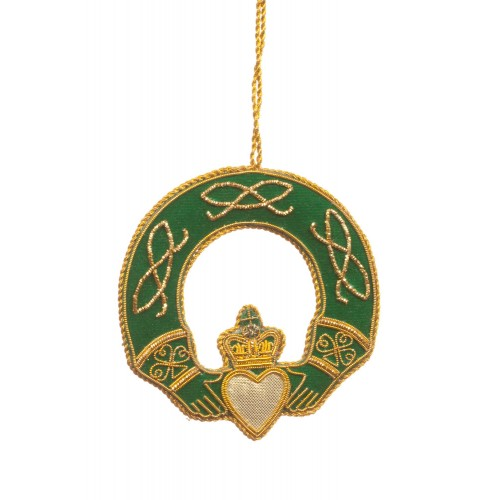 Claddagh Ring Christmas Tree Ornament
