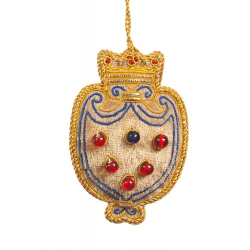 Medici Shield Christmas Decoration